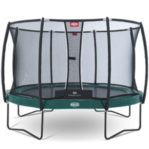 Батут Berg Elite +Regular Green 430 + Safety Net T-Series 430