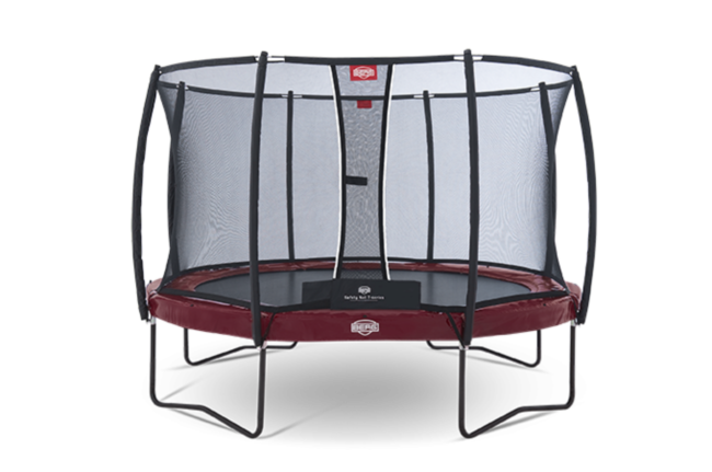 Батут Berg Elite +Regular Red 380 + Safety Net T-Series 380