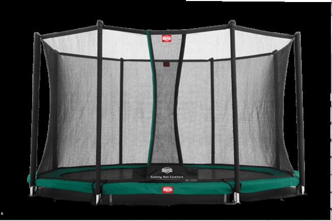 Батут Berg Elite+ InGround Green 330+Safety Net T-series 330