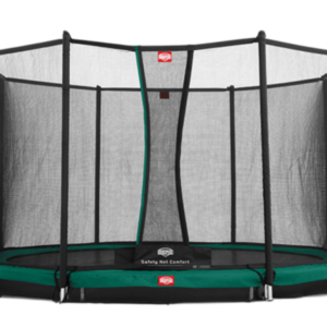 Батут Berg Elite+InGround Green 380+Safety Net T-series 380