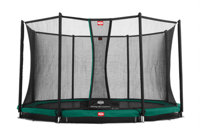 Батут Berg Elite+InGround Green 430+Safety Net T-series 430
