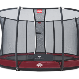 Батут Berg Elite+InGround Red 380+Safety Net T-series 380