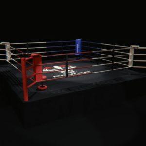 Ринг на помосте(1 м) профессиональный 6,5х6,5 метра