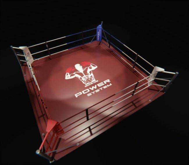 Ринг напольный, профессиональный 7х7 метра