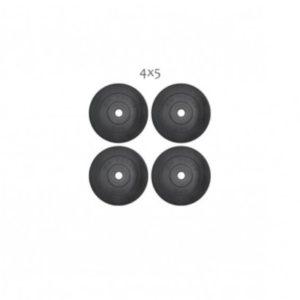 20 кг (4x5) дисков, покрытых пластиком (31 мм)