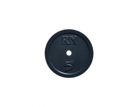 Штанга для дома Rn-Sport на 40 кг, хромированный гриф