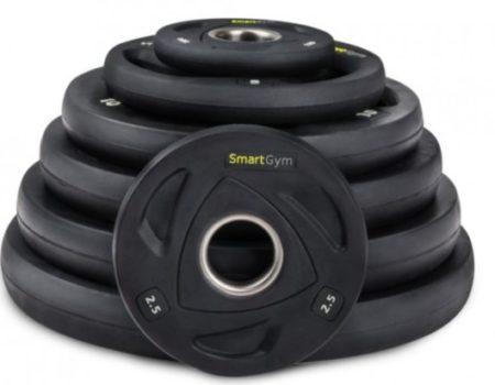 Обрезиненная штанга SmartGym 85 кг