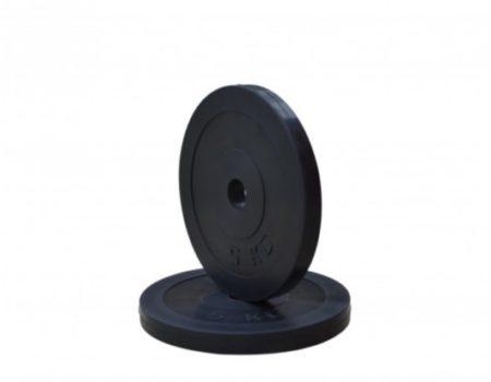 Штанга с обрезиненными дисками W-образная 30 кг