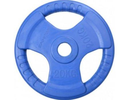 Комплект 155 кг блинов + 4 Олимпийских грифа