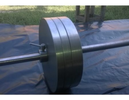 Штанга домашняя стальная 75 кг