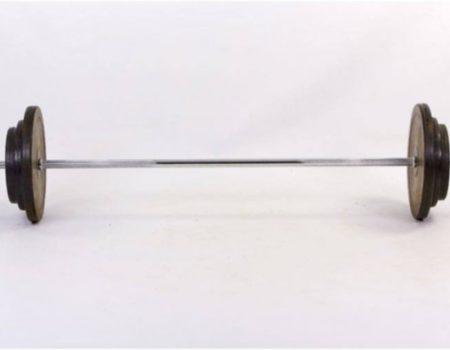 Штанга обрезиненная 83кг TA-1139-83R