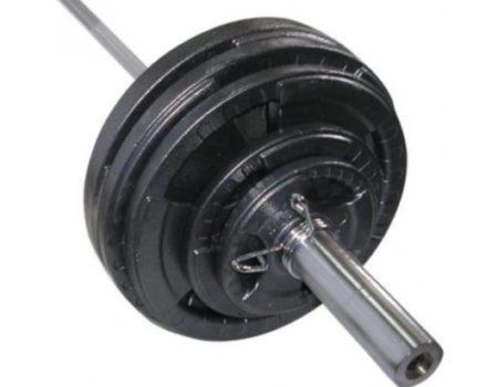 Штанга олимпийская 103 кг, гриф 1,8 м