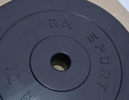 Силовой набор на 80 кг. 4 грифа + блины. Диски с ABS