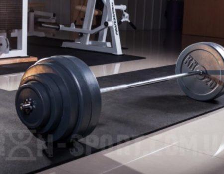 Штанга 115 кг + W-образный гриф.