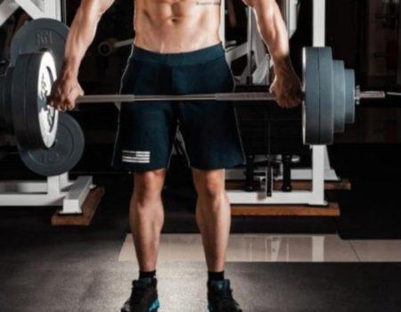 Штанга 62 кг с хромированным грифом