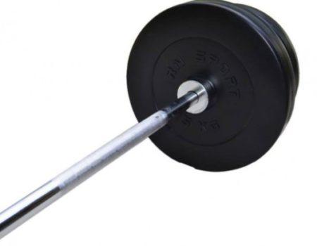 Штанга с противоударным покрытием на 120 кг