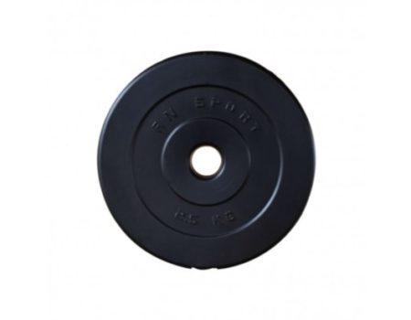 Гантели RN-Sport ABS 2 по 20 кг с амортизирующим покрытием + Подарок