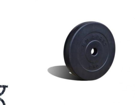 Гантель композитная RN-Sport 23 кг - 1 шт + Эспандер