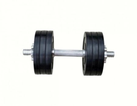Обрезиненные гантели RN-Sport 2 по 16 кг (RN_OD2х16)