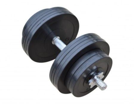 Обрезиненная гантель 31 кг (RN_OD31)