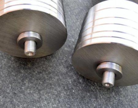 Две гантели стальные по 42кг