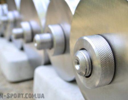 Гантели стальные по 22 кг