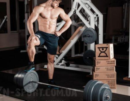 Диск 15 кг для олимпийского грифа 50мм