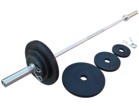 Диск RN-Sport стальной обрезиненный 10 кг - 51 мм