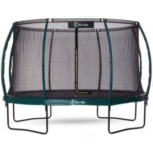 Батут Fit-On Tramp 10ft (312cм) с защитной сеткой Maximal Safe