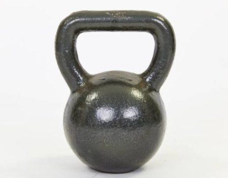 Гиря чугунная окрашенная черная TA-1815-25 25кг (чугун, черный)