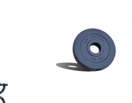 10 кг (4x2.5) дисков, покрытых пластиком (31 мм)