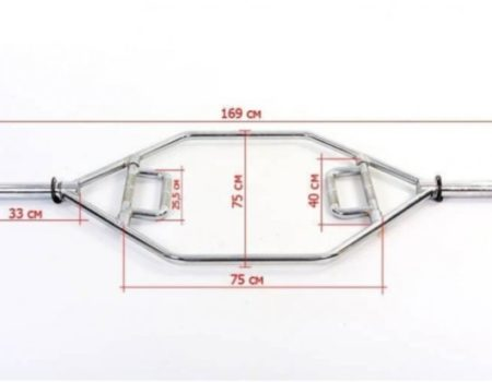 Гриф трэп шестиугольный FOLDING HANDLE HEX