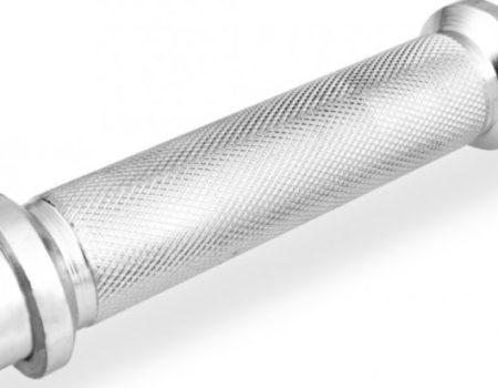 Гриф гантельный хромированный 40 см - 25 мм