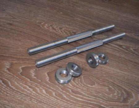 Грифы гантельные 42 см - 25 мм