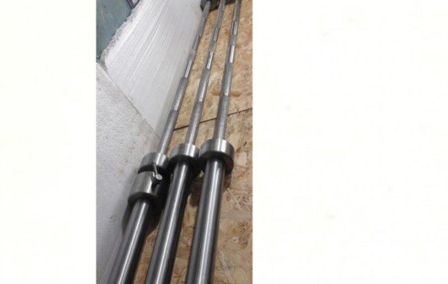 Гриф олимпийский 2.2 метра - 20 кг - 50 мм - до 450 кг - без покрытия