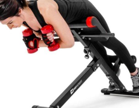 Тренировочная скамья для гиперэкстензии Hop-Sport HS-1018