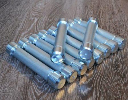 Гантельный ряд от 10-60 кг оцинкованный