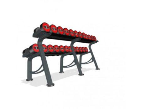 Гантельный ряд Marbo-Sport 5-32,5 кг.