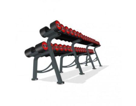 Гантельный ряд Marbo-Sport 5-50 кг (MP-HSGK5-L)