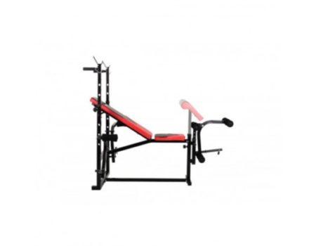 Скамья Hop-Sport 1070 + Штанга 115 кг + W-обр. гриф