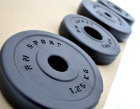 """Скамья InterAtletika """"Оптима"""" ST-005.1 + 4 грифа + 115 кг дисков ABS"""