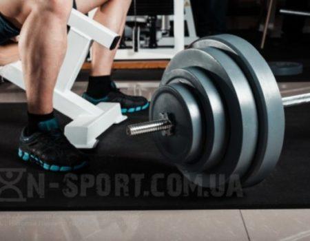 Скамья для жима, стойки для приседаний + 130 кг штанга + 3 грифа RN-Sport
