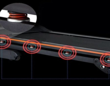 Электрическая беговая дорожка  HR V520